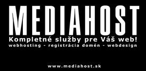 Mediahost.sk - webhosting, registrácia domén, webdesign
